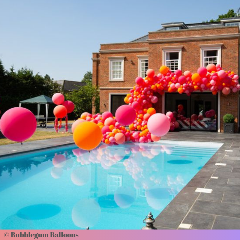 Creative ways to use balloons at events and parties