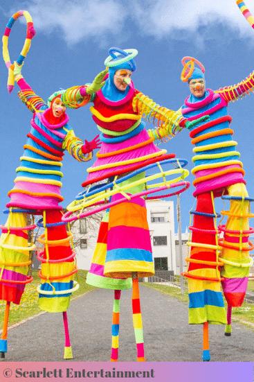 Ombre colour scheme for parties