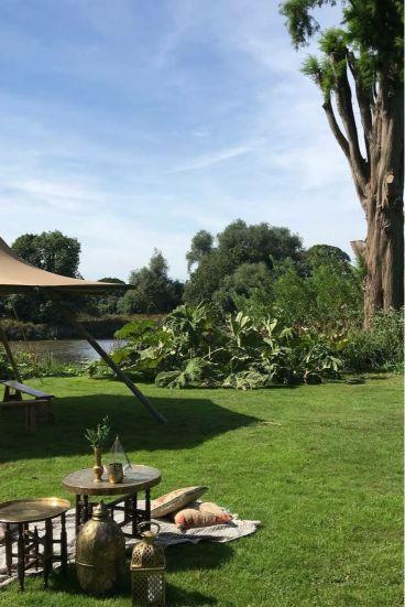 Unusual Bar Mitzvah Venue Secret River Garden