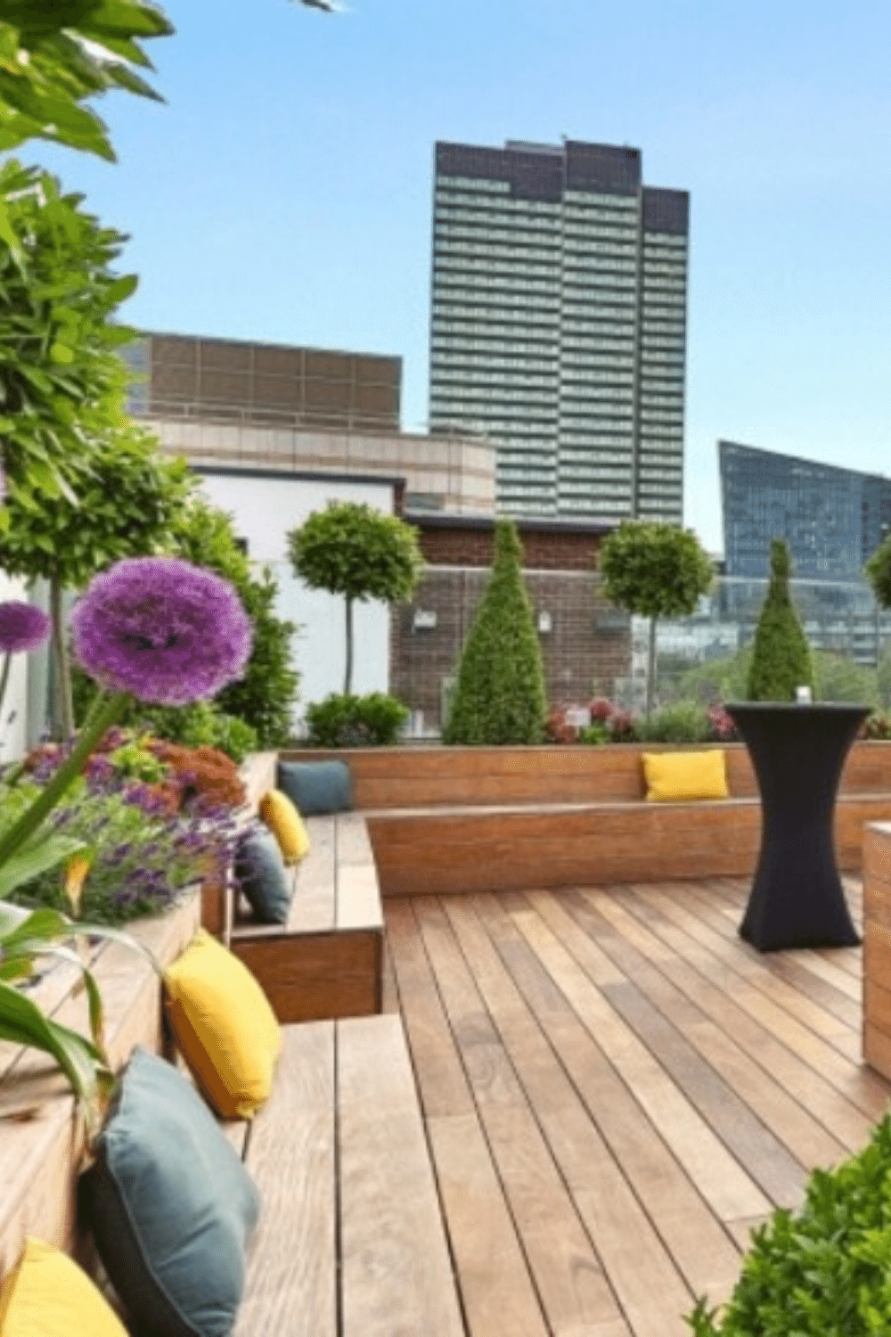 Rooftop Venues London for Bar Mitzvah Parties 30 Euston Square Terrace