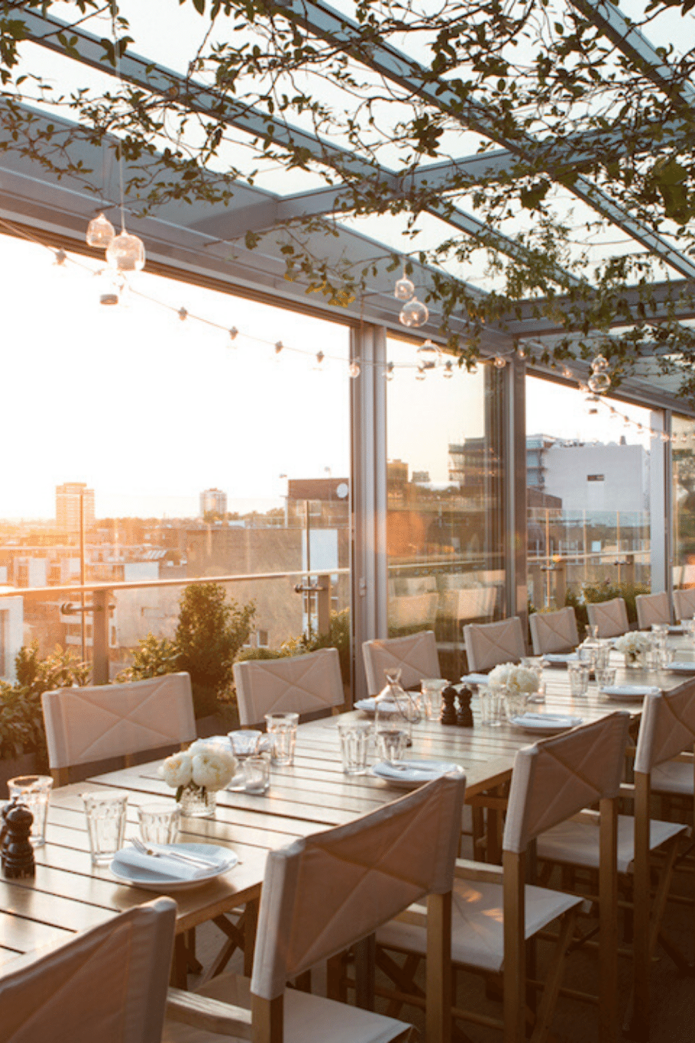 Rooftop Venues London for Bar Mitzvah Parties Boundary Bar