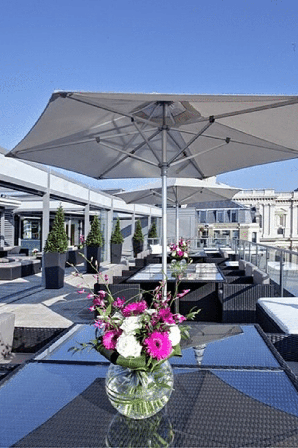 Rooftop Venues London for Bar Mitzvah Parties Sky Bar St Pauls