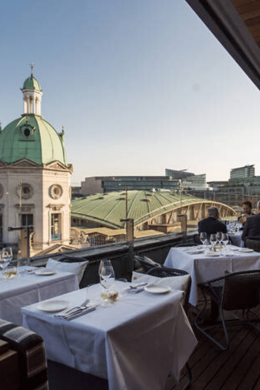Rooftop Venues London for Bar Mitzvah Parties Smiths of Smithfield