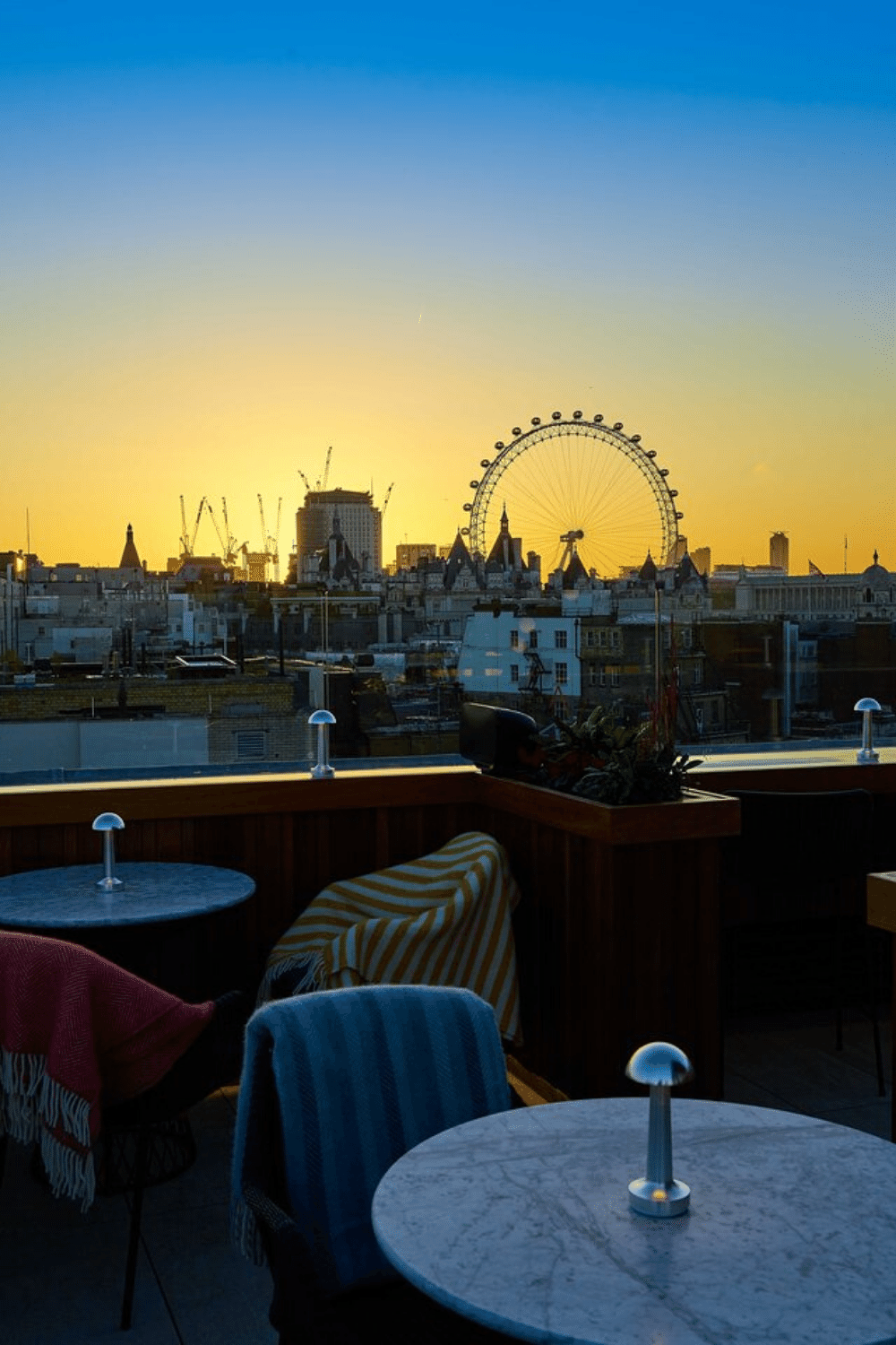 Rooftop Venues London for Bar Mitzvah Parties Trafalgar St James